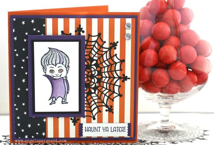 Make a Cute Halloween Card