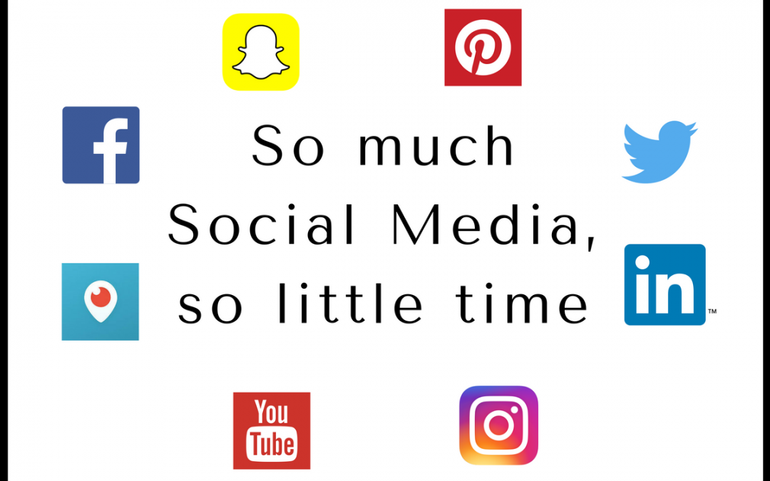 So much social media, so little time