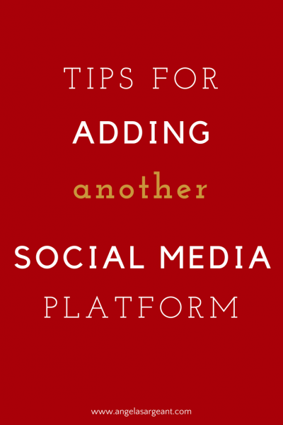Tips for adding another social media platform