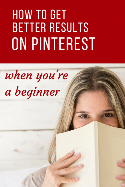 How to get better results on Pinterest when you're a beginner. Sharing 7 of my tips for you to get more repins and drive traffic to your website