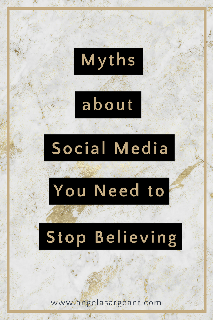 Myths about Social Media you need to stop believing if you want to ramp up your social presence, and start seeing better results.