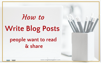 How to Write Blog Posts People Want to Read and Share