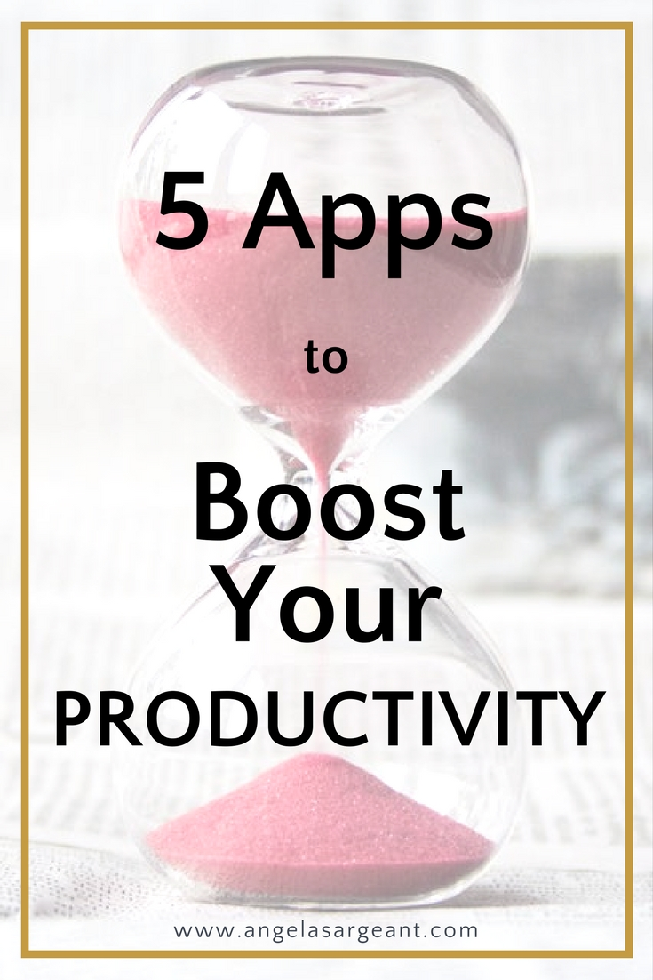 5 awesome apps you need, to boost your productivity and stay focused on your business as an entrepreneur