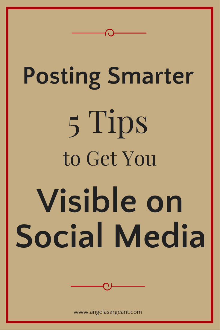 5 social media mistakes that stop you from being seen on social media, along with the solutions for you to take action on right away.