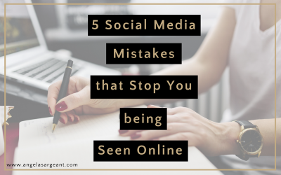 5 social media mistakes that stop you being seen online