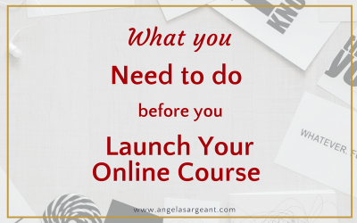 What you need to do before you launch your online course