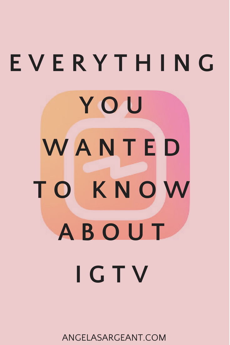 Whether you're ready to jump into IGTV or just want to check it out first, you probably have a lot of questions. Here's everything you wanted to know about IGTV and more #igtv #instagram #video #socialmedia