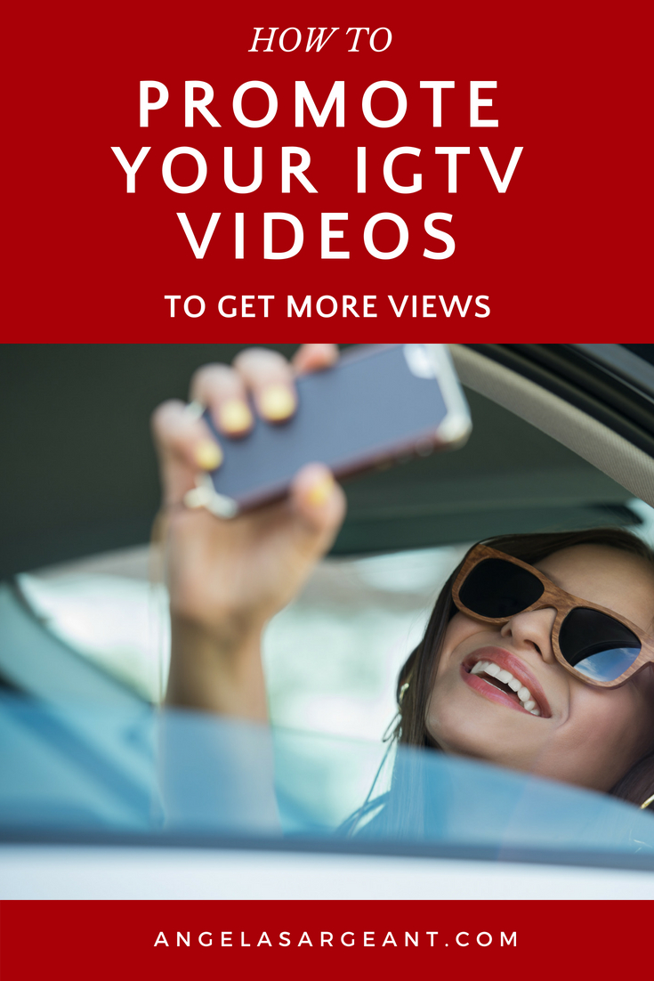 You've created your IGTV videos, now let's get more views for you. How to promote your IGTV videos not just in Instagram but other places on the Internet to get more views, and subscribers #IGTV #Instagram #socialmedia #video