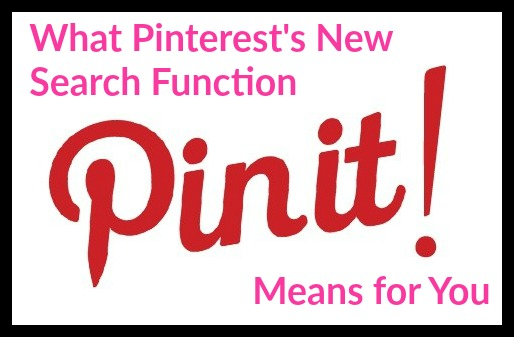 What Pinterest's New Search Function Means for You