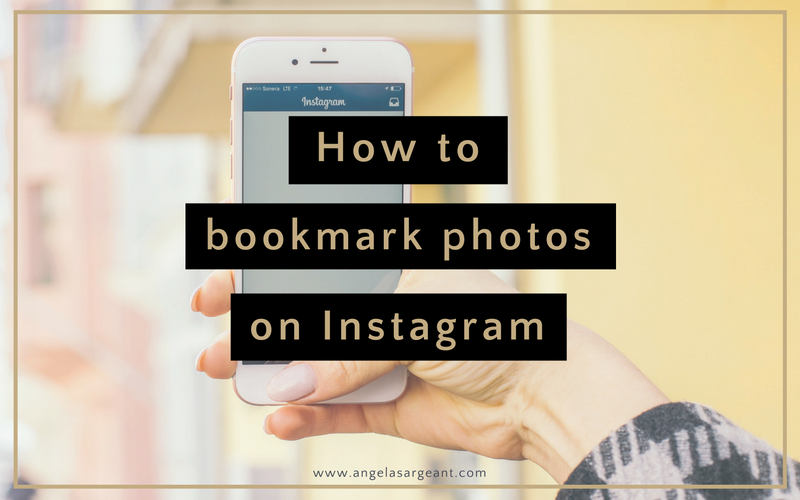 How to Bookmark photos on Instagram